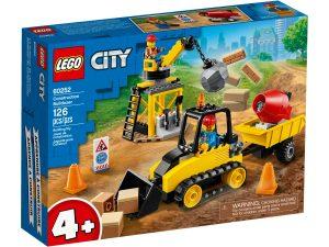 lego 60252 bulldozer da cantiere