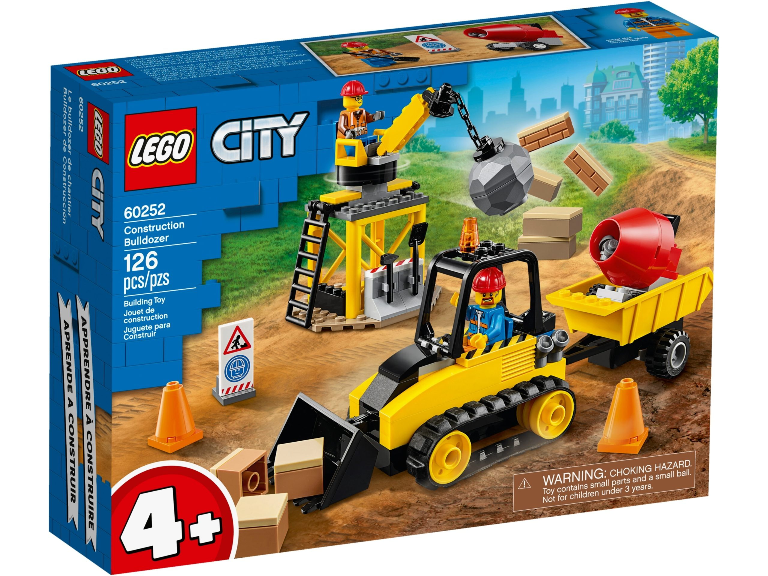lego 60252 bulldozer da cantiere scaled