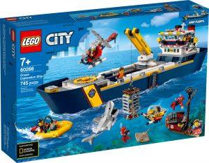 lego 60266 nave da esplorazione oceanica