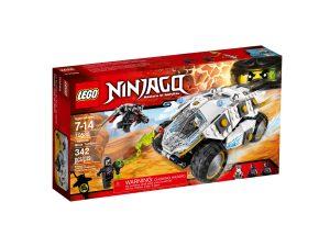 lego 70588 tumbler di titanio ninja