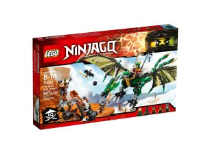 lego 70593 dragone nrg verde
