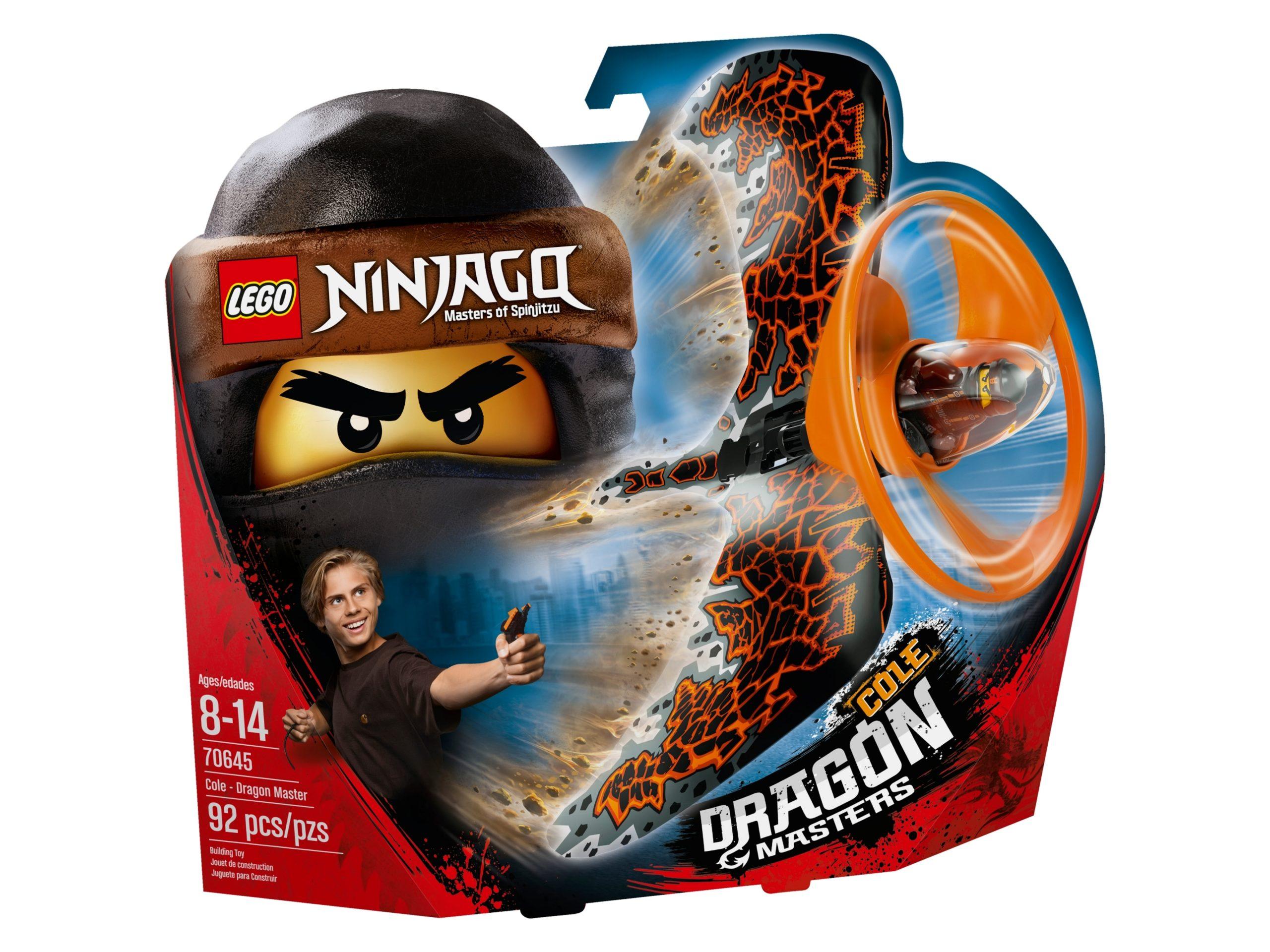 lego 70645 cole maestro dragone scaled