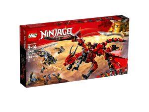 lego 70653 dragone del destino