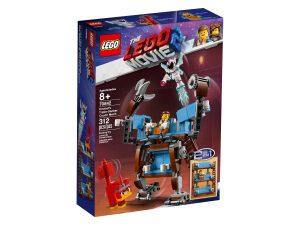 lego 70842 il robot divano a 3 piani di emmet