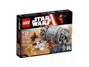 lego 75136 capsula di salvataggio droid