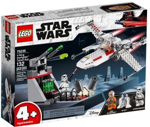 lego 75235 x wing starfighter trench run