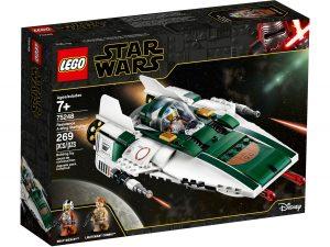 lego 75248 a wing starfighter della resistenza