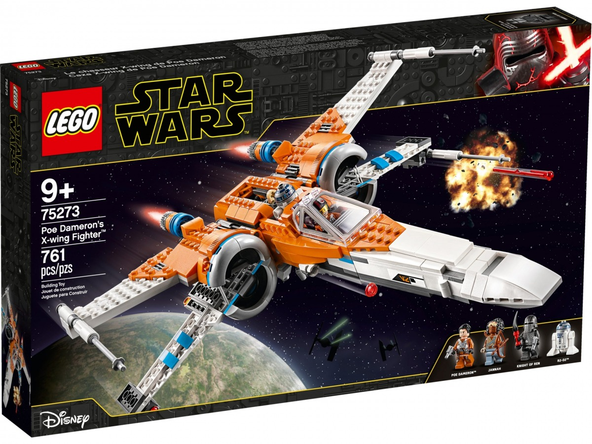 lego 75273 x wing fighter di poe dameron scaled