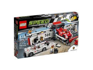lego 75876 porsche 919 hybrid e 917k pit lane