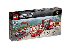 lego 75889 garage ferrari