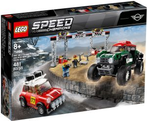 lego 75894 1967 mini cooper s rally e 2018 mini john cooper works buggy