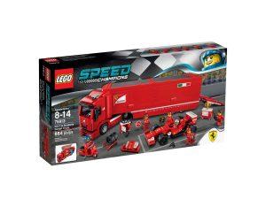 lego 75913 camion trasportatore f14 t e scuderia ferrari