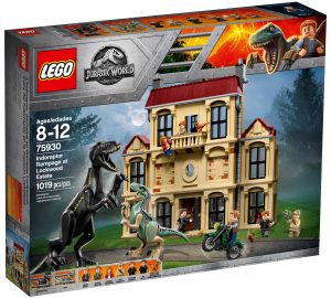 lego 75930 attacco dellindoraptor al lockwood estate