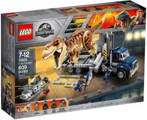 lego 75933 trasporto del t rex