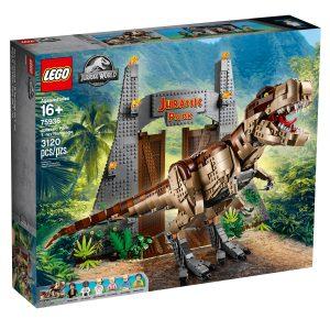 lego 75936 jurassic park la furia del t rex