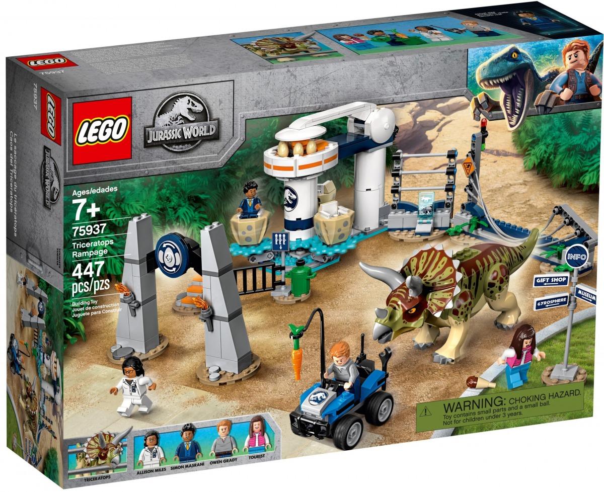 lego 75937 lassalto del triceratopo scaled