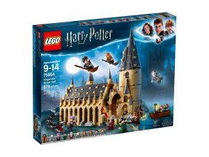 lego 75954 la sala grande di hogwarts