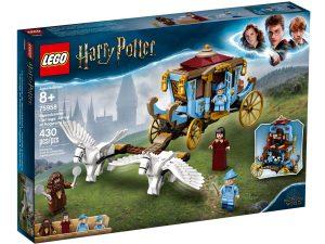 lego 75958 la carrozza di beauxbatons arrivo a hogwarts