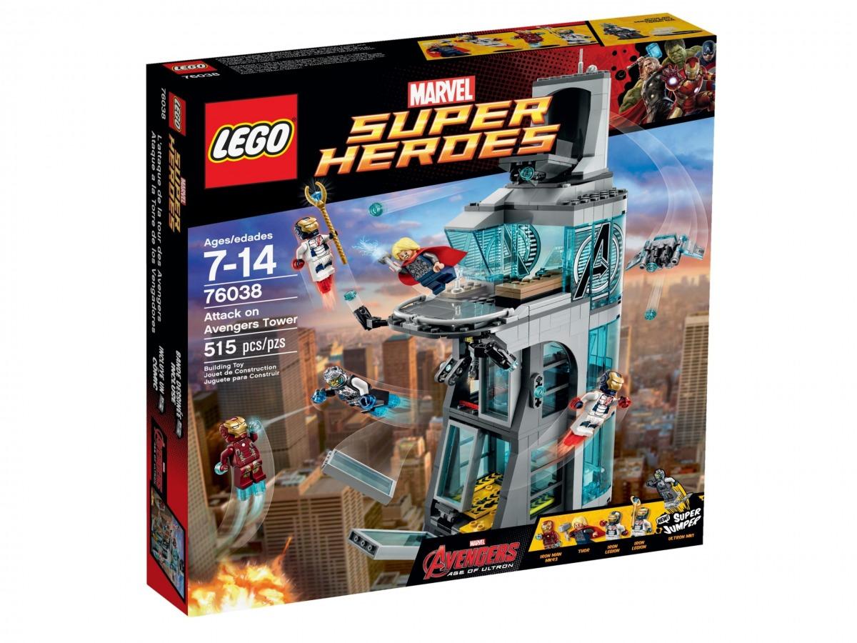 lego 76038 attacco alla torre degli avengers scaled