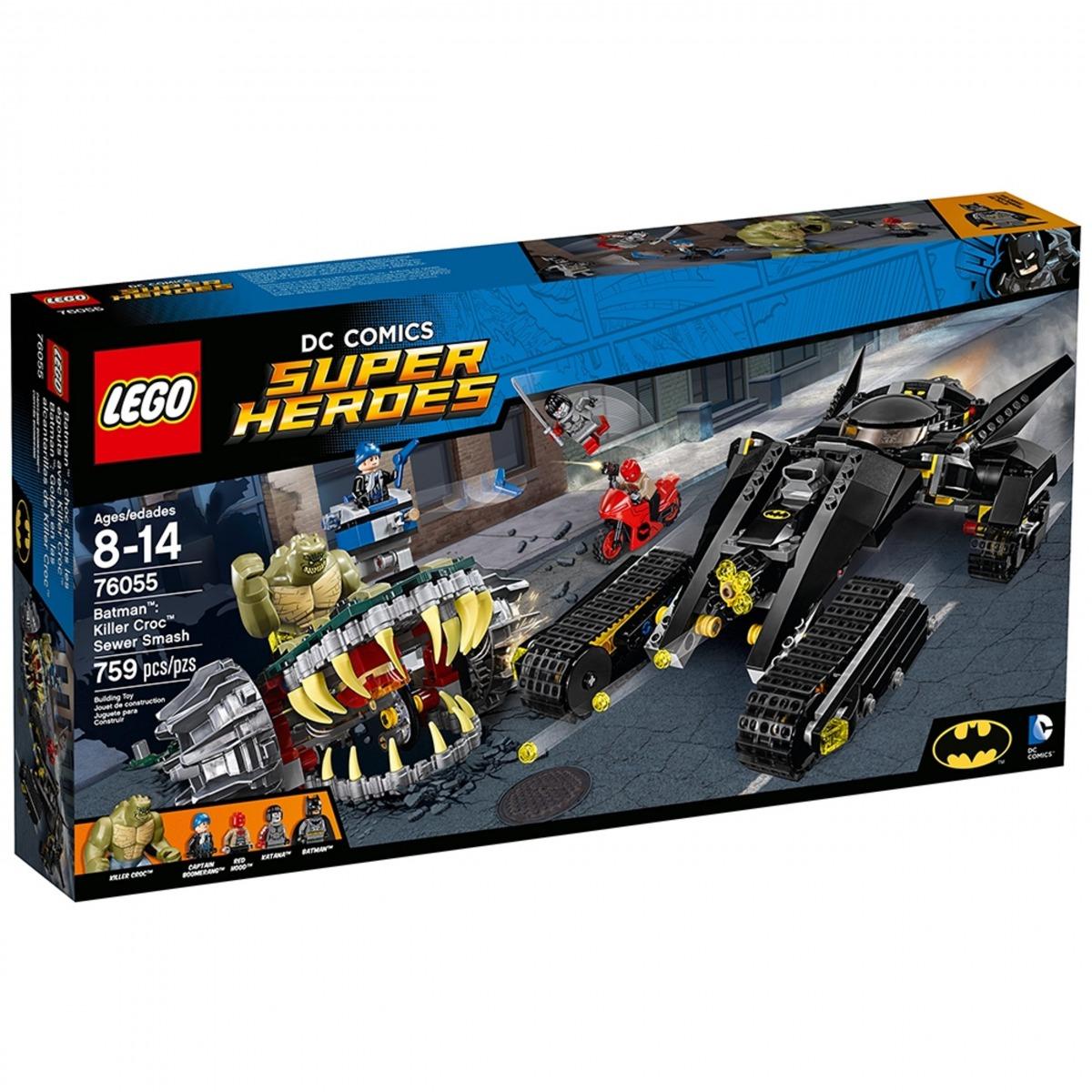 lego 76055 batman duello nelle fogne con killer croc scaled