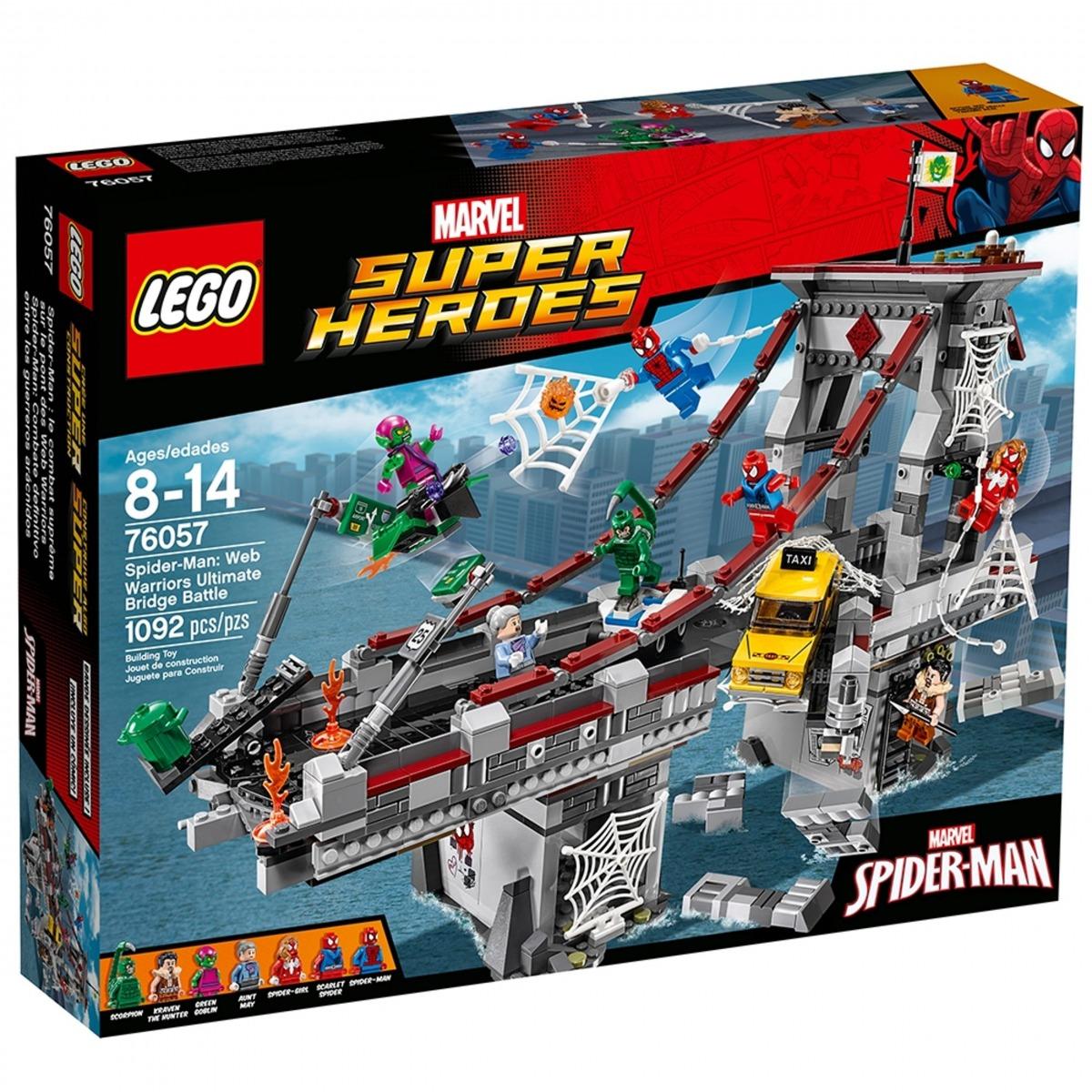 lego 76057 spider man la battaglia sul ponte dei web warriors scaled