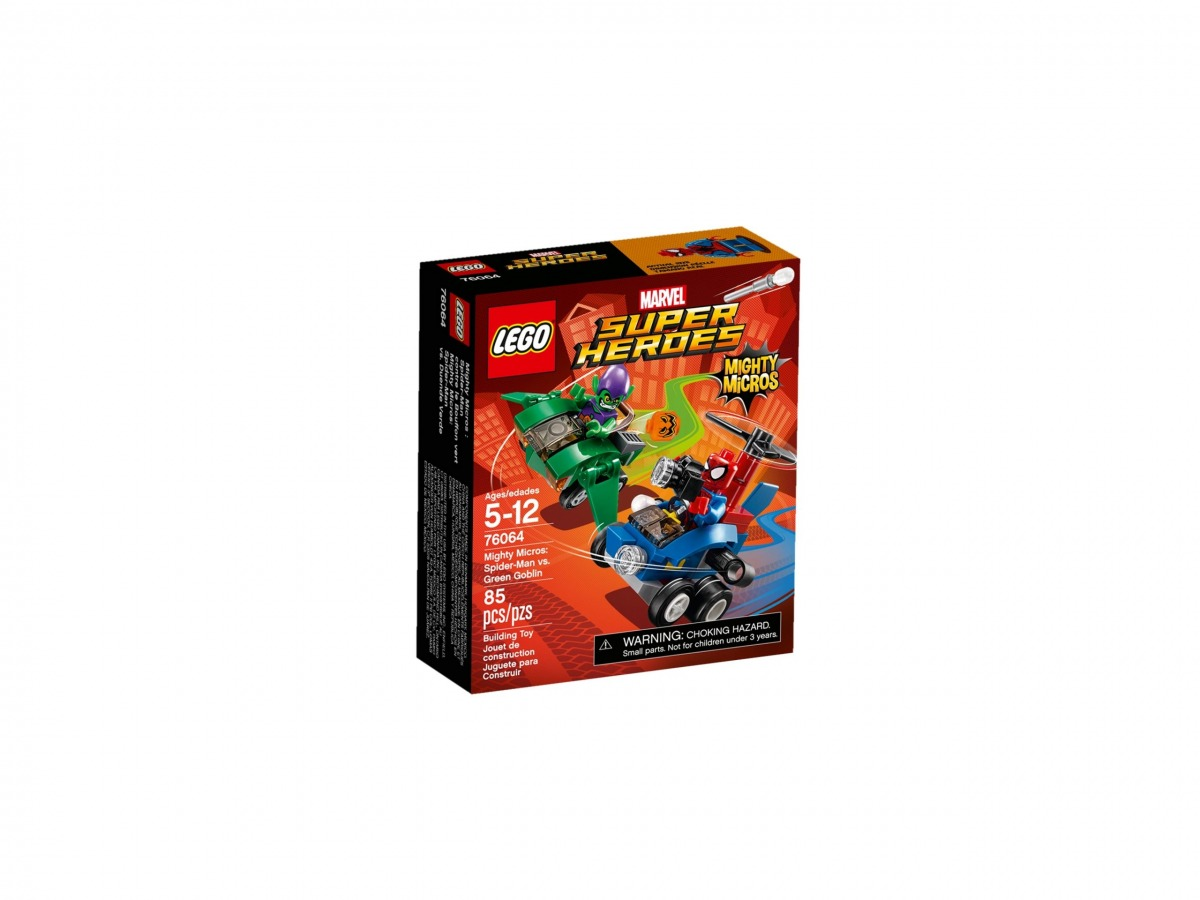 lego 76064 mighty micros spiderman contro goblin scaled