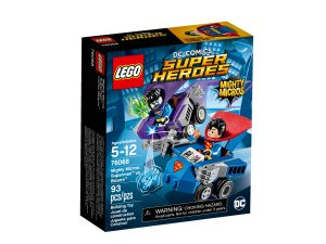 lego 76068 mighty micros superman contro bizarro