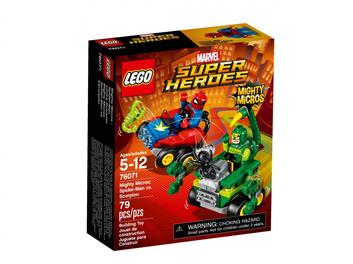 lego 76071 mighty micros spider man contro scorpione scaled