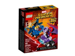 lego 76073 mighty micros wolverine contro magneto