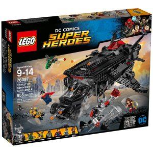 lego 76087 volpe volante attacco al ponte aereo con la batmobile