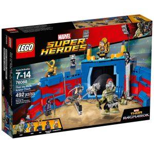 lego 76088 thor contro hulk duello nellarena