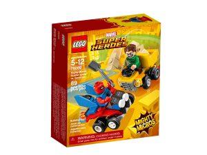 lego 76089 mighty micros scarlet spider contro luomo sabbia
