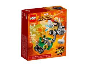 lego 76091 mighty micros thor contro loki
