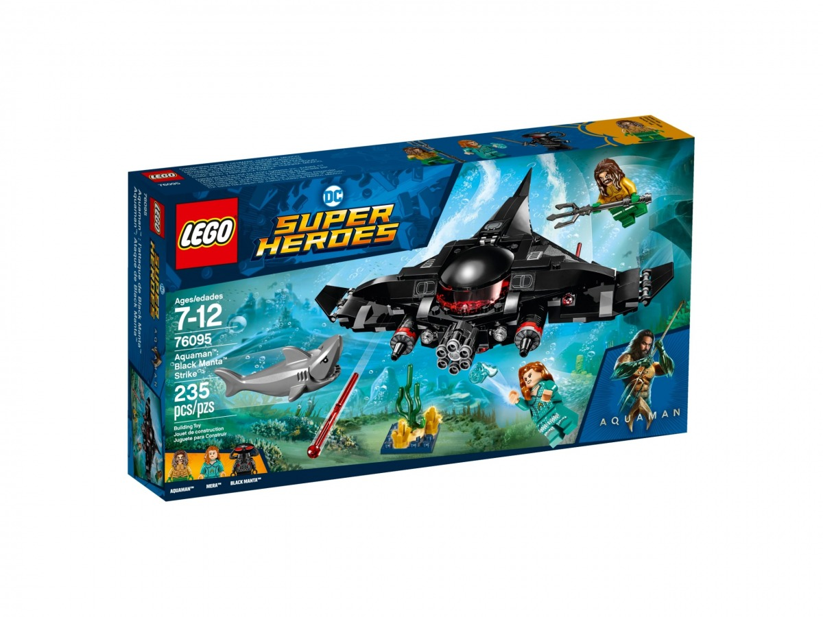 lego 76095 aquaman lattacco di black manta scaled