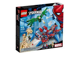 lego 76114 crawler di spider man