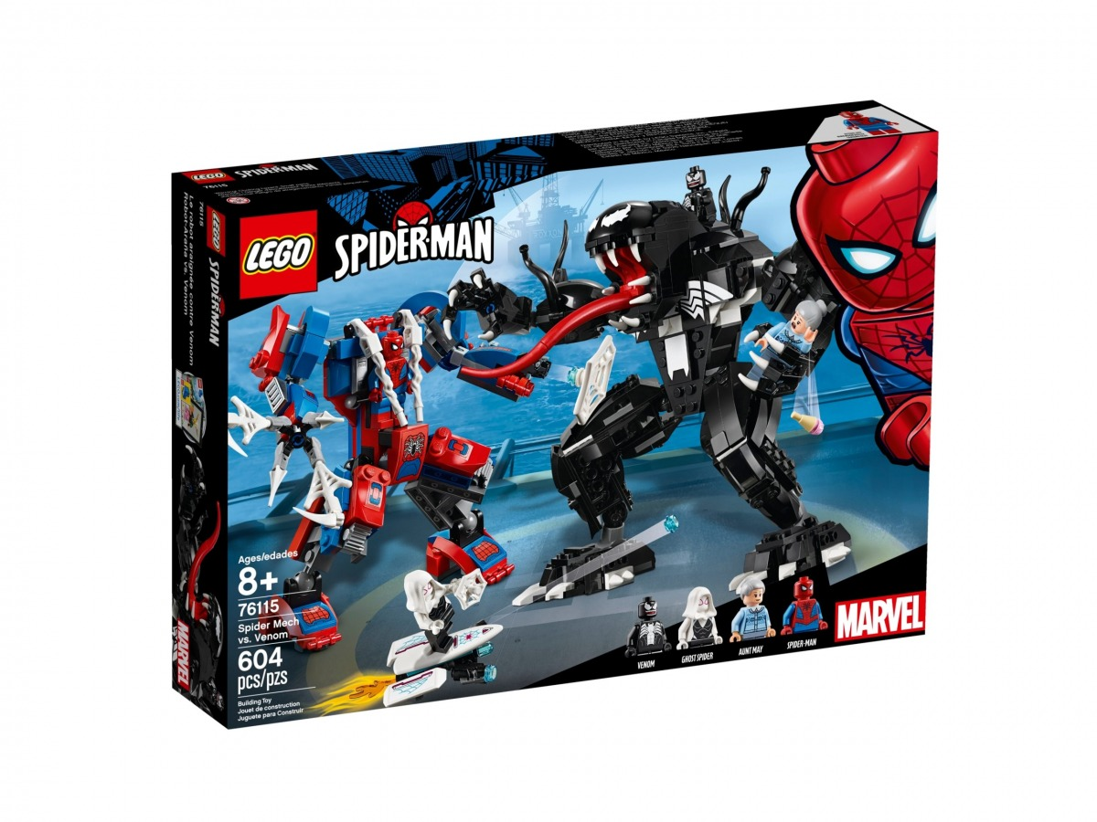 lego 76115 mech di spider man vs venom scaled