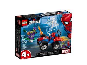lego 76133 inseguimento in auto di spider man