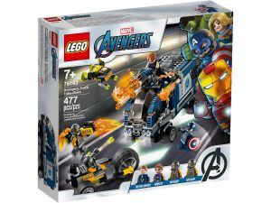 lego 76143 avengers attacco del camion