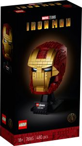 lego 76165 casco di iron man