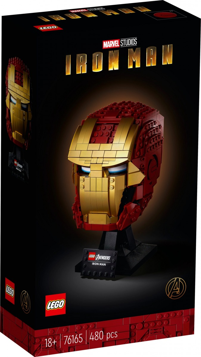 lego 76165 casco di iron man scaled