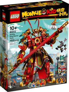 lego 80012 mech guerriero monkey king