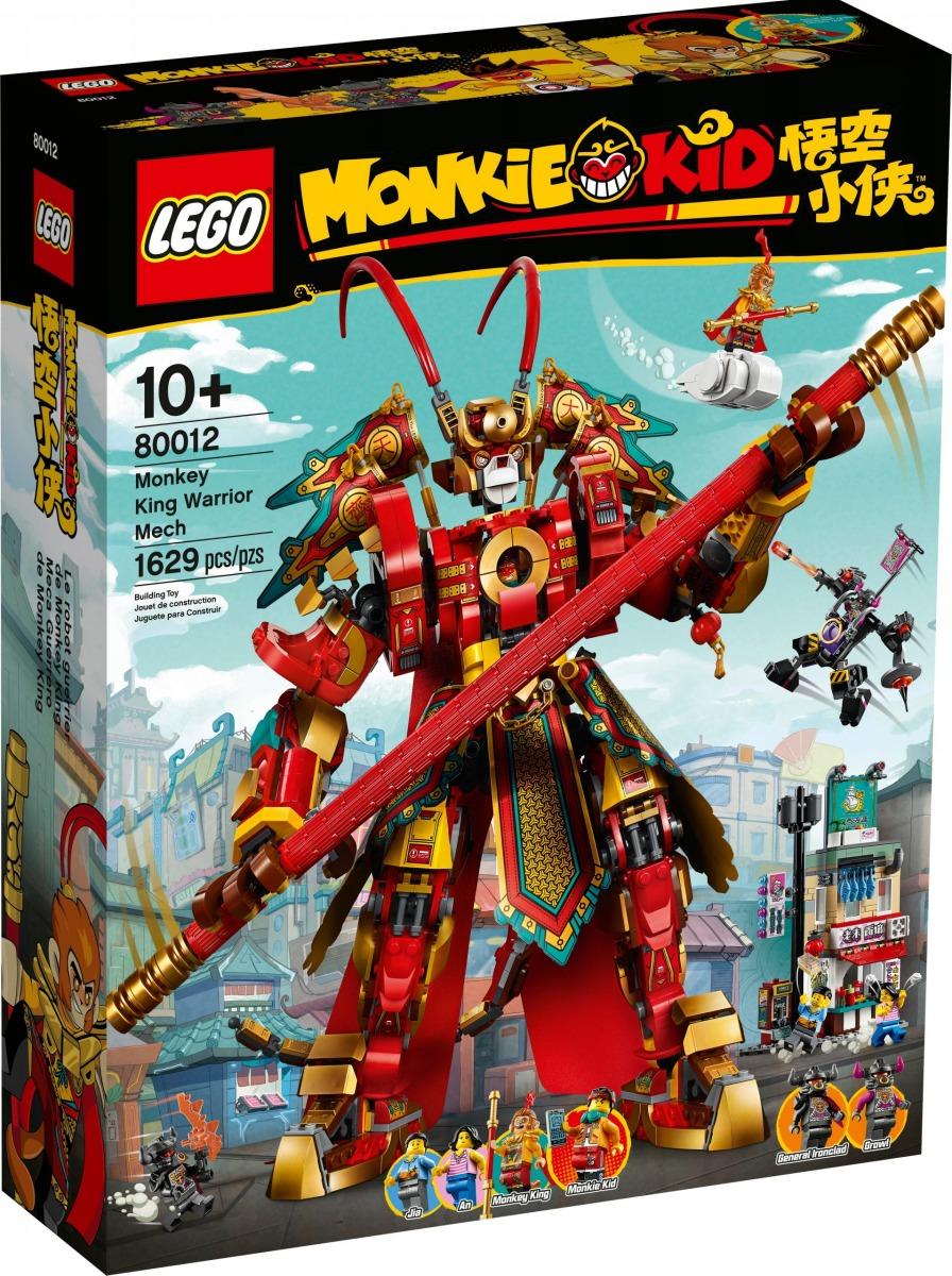 lego 80012 mech guerriero monkey king scaled