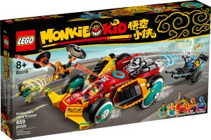lego 80015 super auto sportiva di monkie kid