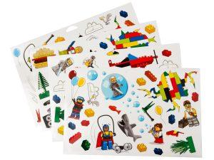 lego 851402 adesivi da parete