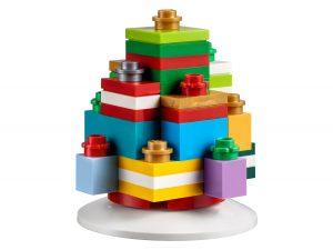 lego 853815 ornamento festivo con regali