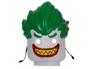 maschera di the joker lego 853644 batman movie