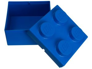 mattoncino contenitore blu 2x2 lego 853235