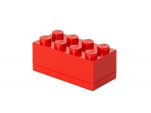 mini mattoncino contenitore a 8 bottoncini lego 5001286