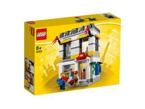 negozio lego 40305 in microscala