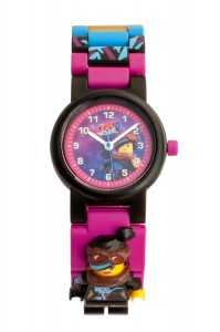 orologio con minifigure di wyldstyle lego 5005703 movie 2